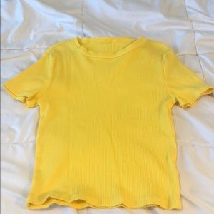 Yellow T Shirt from H&M